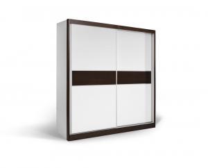 Garderober Američki plakar APM 200 (Belo - wenge)